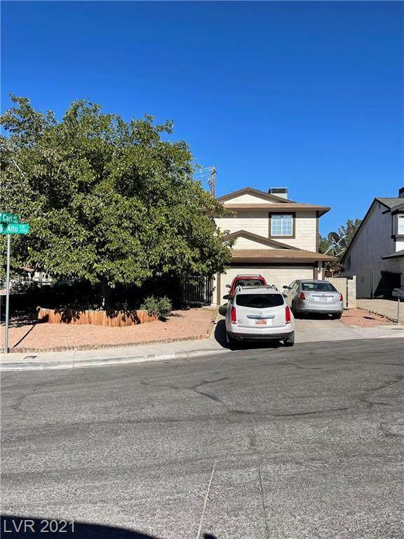 1729 Palo Alto Circle, Las Vegas, NV 89108 (MLS #2330140) :: Lindstrom Radcliffe Group