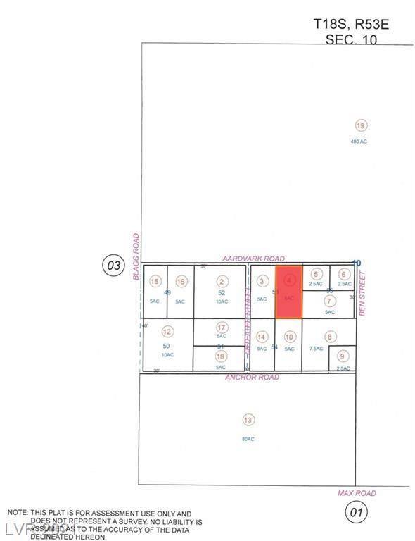 341 E Aardvark Road, Pahrump, NV 89060 (MLS #2331063) :: Lindstrom Radcliffe Group