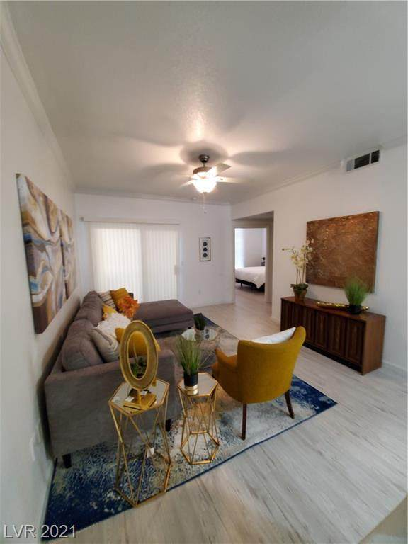 4400 S Jones Boulevard #1101, Las Vegas, NV 89103 (MLS #2332288) :: Jeffrey Sabel