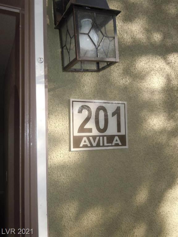 1818 N Decatur Boulevard #201, Las Vegas, NV 89108 (MLS #2332941) :: The Melvin Team