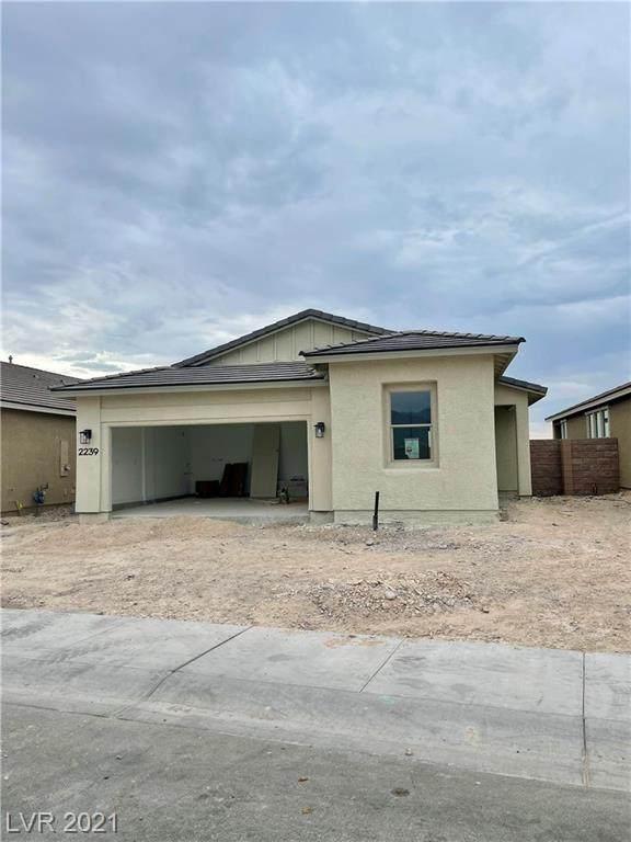 2239 Elmont Avenue, North Las Vegas, NV 89086 (MLS #2333773) :: Hebert Group | eXp Realty