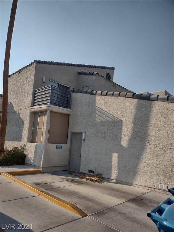 6250 W Flamingo Road #121, Las Vegas, NV 89103 (MLS #2335236) :: Lindstrom Radcliffe Group