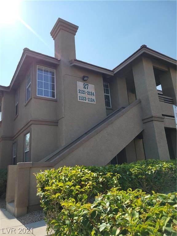 9901 Trailwood Drive #2123, Las Vegas, NV 89134 (MLS #2336357) :: Alexander-Branson Team | Realty One Group