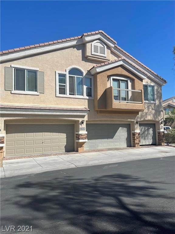 6468 Za Zu Pitts Avenue #103, Las Vegas, NV 89122 (MLS #2337508) :: Jeffrey Sabel