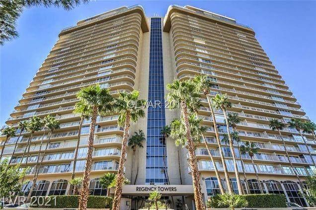 3111 Bel Air Drive 3E, Las Vegas, NV 89109 (MLS #2338587) :: The TR Team