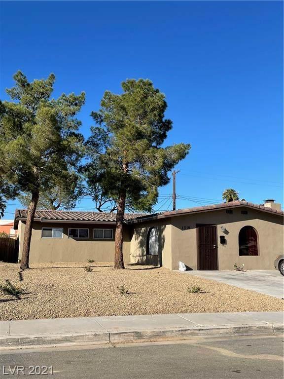 1316 E Webb Avenue, North Las Vegas, NV 89030 (MLS #2339920) :: The Melvin Team
