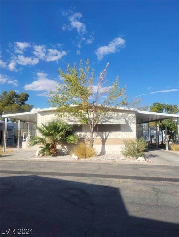 1601 S Sandhill Road #244, Las Vegas, NV 89104 (MLS #2341440) :: The TR Team
