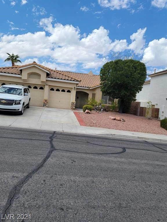 493 Beaconwood Street, Henderson, NV 89052 (MLS #2343074) :: The Chris Binney Group | eXp Realty