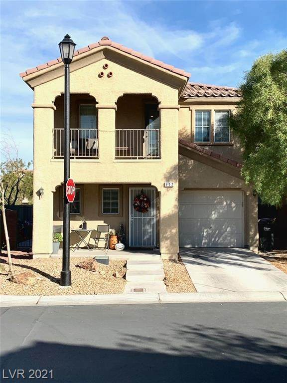 512 Taunton Street, Las Vegas, NV 89178 (MLS #2343224) :: The TR Team
