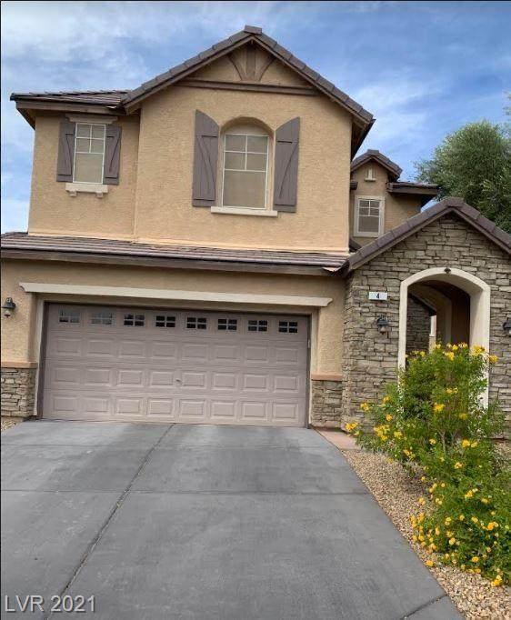 4 Snow Dome Avenue, North Las Vegas, NV 89031 (MLS #2344331) :: The Melvin Team