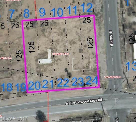 140 W Cottonwood Cove Road, Searchlight, NV 89046 (MLS #1866155) :: Jeffrey Sabel