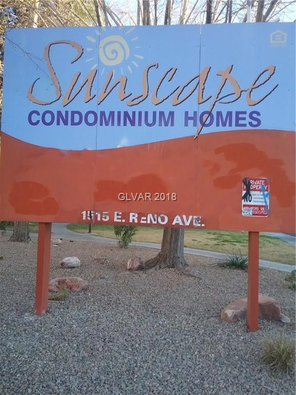 1515 E Reno B108, Las Vegas, NV 89119 (MLS #1961797) :: Sennes Squier Realty Group