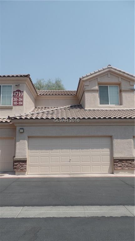 4710 Centisimo #104, North Las Vegas, NV 89084 (MLS #2021052) :: The Snyder Group at Keller Williams Realty Las Vegas