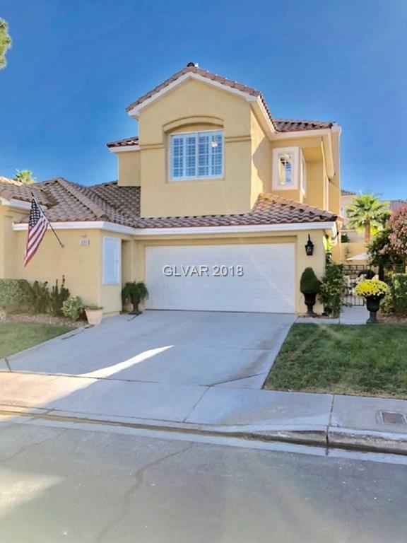 9209 Sunnyfield, Las Vegas, NV 89134 (MLS #2033929) :: Sennes Squier Realty Group