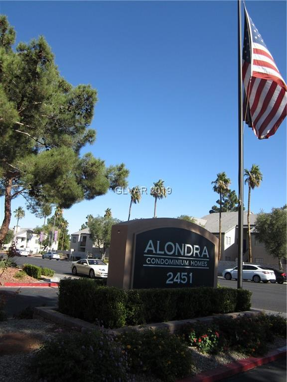 2451 Rainbow #2031, Las Vegas, NV 89108 (MLS #2052983) :: The Snyder Group at Keller Williams Marketplace One