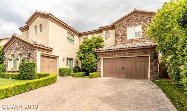 4111 Villa Rafael, Las Vegas, NV 89141 (MLS #2092669) :: The Snyder Group at Keller Williams Marketplace One