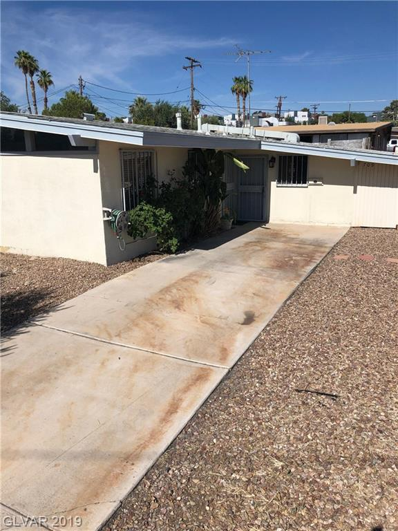 709 N 16TH, Las Vegas, NV 89101 (MLS #2109194) :: Signature Real Estate Group
