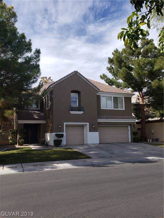 1013 Windfair Village Street, Las Vegas, NV 89145 (MLS #2153750) :: Billy OKeefe | Berkshire Hathaway HomeServices