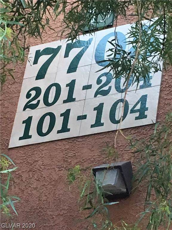 7705 Himalayas #101, Las Vegas, NV 89128 (MLS #2161705) :: Hebert Group | Realty One Group