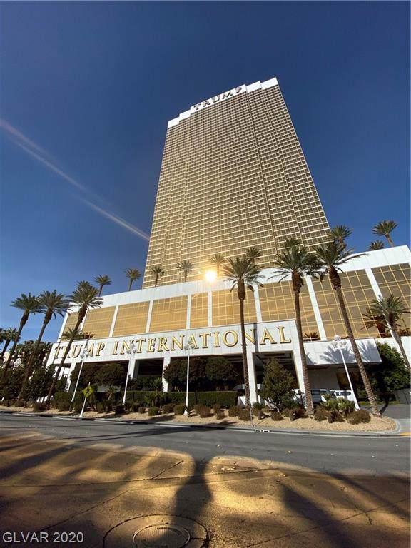 2000 Fashion Show #1718, Las Vegas, NV 89109 (MLS #2164620) :: Trish Nash Team