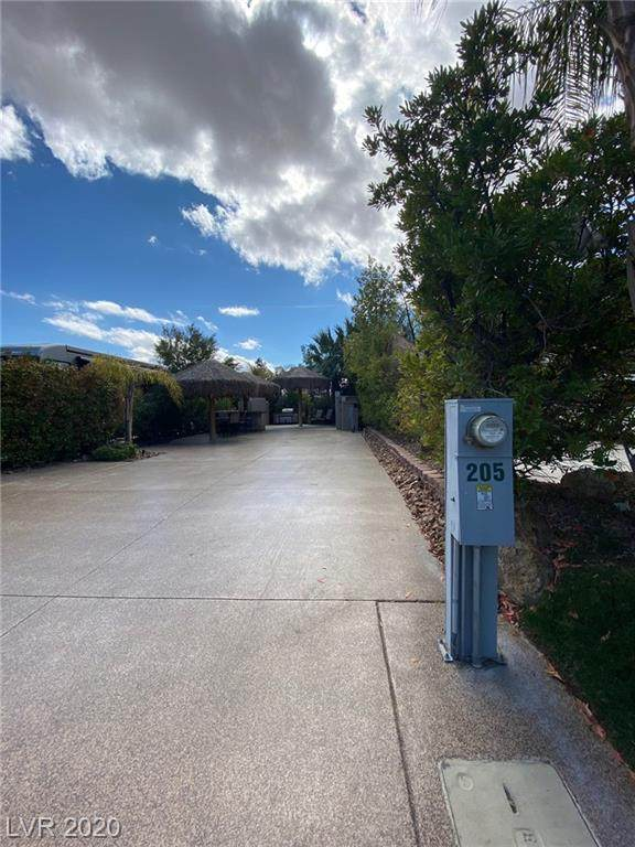 8175 Arville #205, Las Vegas, NV 89139 (MLS #2182456) :: The Lindstrom Group