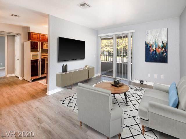 2606 Durango Drive #206, Las Vegas, NV 89117 (MLS #2210588) :: Jeffrey Sabel
