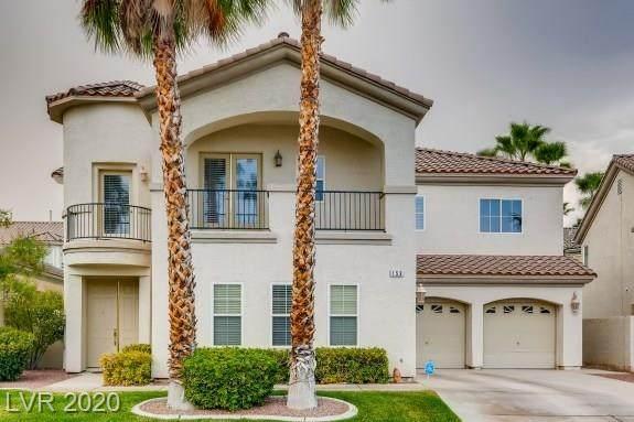 153 Cascade Lake Street, Las Vegas, NV 89148 (MLS #2221095) :: Vestuto Realty Group