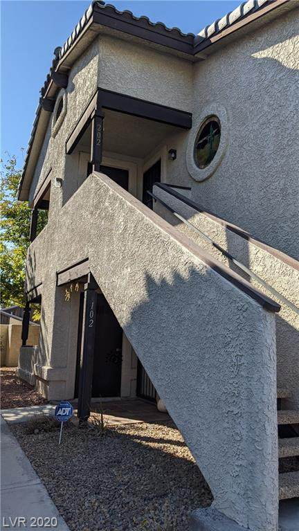 5080 Jeffreys Street #202, Las Vegas, NV 89119 (MLS #2238580) :: Billy OKeefe | Berkshire Hathaway HomeServices