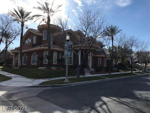 1432 Iron Hills Lane, Las Vegas, NV 89134 (MLS #2254030) :: The Lindstrom Group