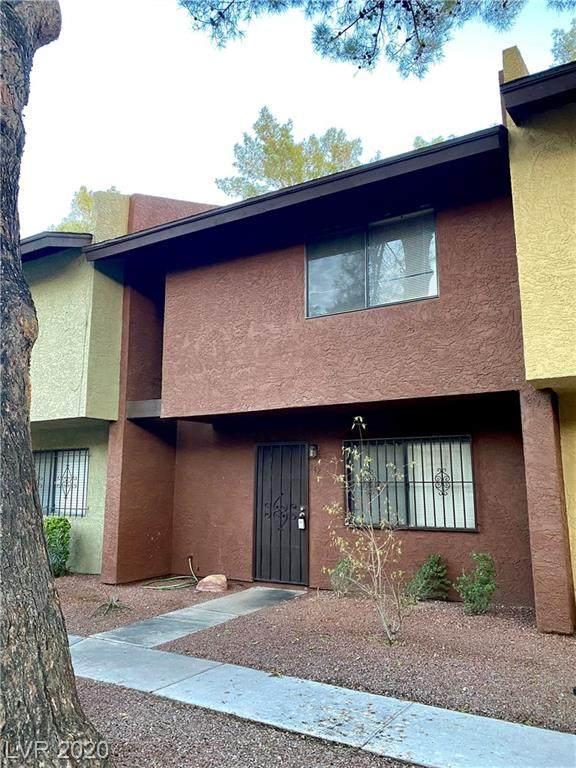 140 Bel Port Drive #142, Las Vegas, NV 89110 (MLS #2256347) :: Signature Real Estate Group