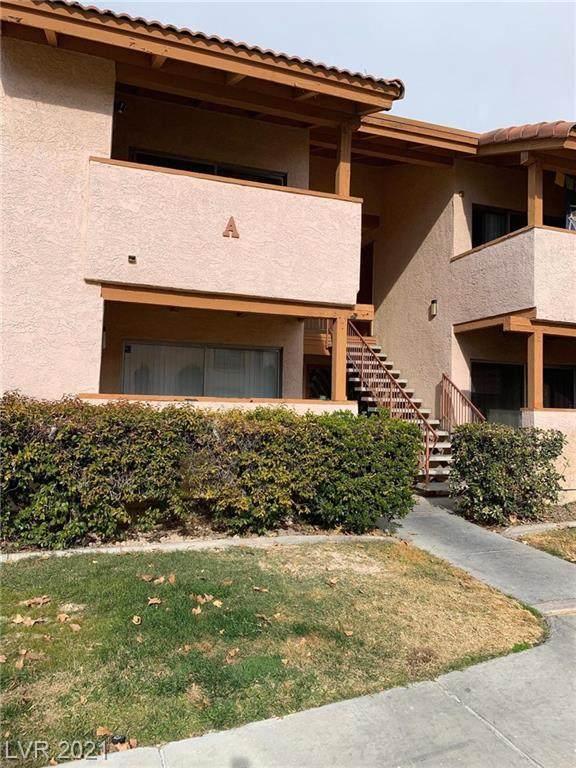 1515 Reno Avenue A106, Las Vegas, NV 89119 (MLS #2259143) :: Team Michele Dugan