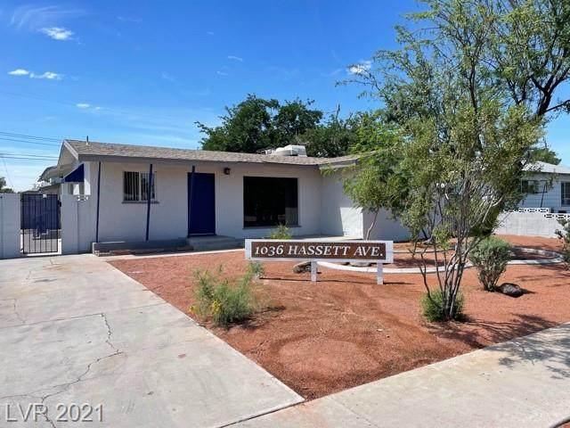 1036 Hassett Avenue, Las Vegas, NV 89104 (MLS #2294051) :: Jeffrey Sabel