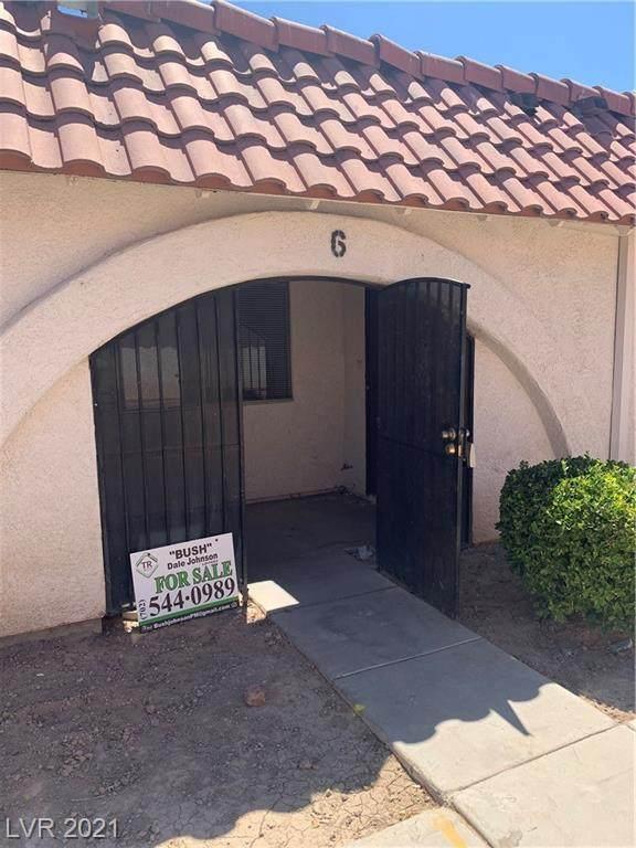 3516 Folage Drive #6, Las Vegas, NV 89110 (MLS #2304670) :: Lindstrom Radcliffe Group