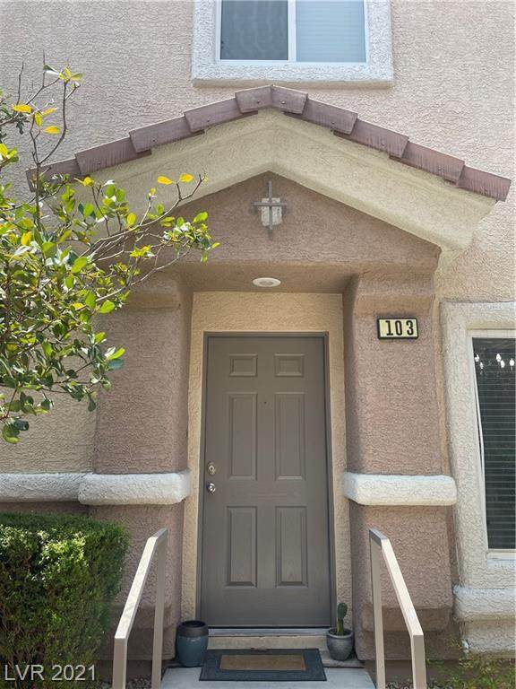 8679 Horizon Wind Avenue #103, Las Vegas, NV 89178 (MLS #2314608) :: The Melvin Team