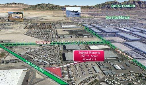 N. Las Vegas Blvd, Las Vegas, NV 89115 (MLS #1917824) :: The Snyder Group at Keller Williams Marketplace One