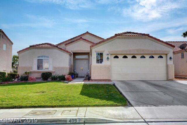409 Violetta, North Las Vegas, NV 89031 (MLS #2152148) :: Signature Real Estate Group