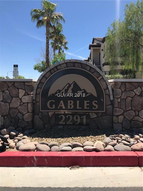 2291 Horizon Ridge #8148, Henderson, NV 89052 (MLS #2003431) :: Signature Real Estate Group