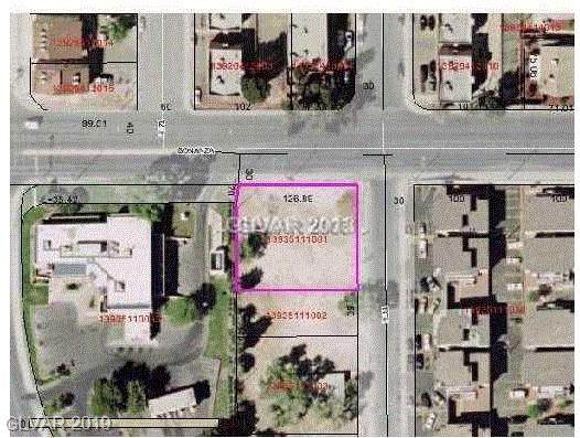 N 13Th/Bonanza Street, Las Vegas, NV 89101 (MLS #1964193) :: Helen Riley Group | Simply Vegas
