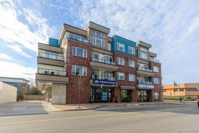 2409 Bevan Ave #402, Sidney, BC V8L 4R5 (MLS #387699) :: Day Team Realtors
