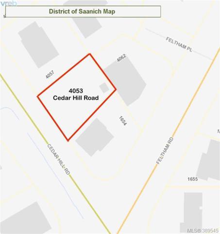 4053 Cedar Hill Rd, Victoria, BC V8N 4M9 (MLS #389545) :: Day Team Realtors