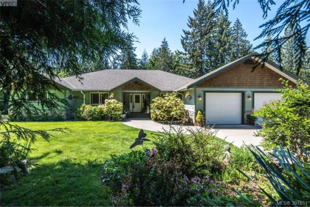 884 Cowerd Rd, Malahat & Area, BC V0R 1L4 (MLS #391651) :: Day Team Realtors