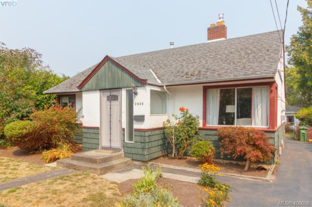 2945 Scott St, Victoria, BC V8R 4J7 (MLS #400058) :: Day Team Realtors