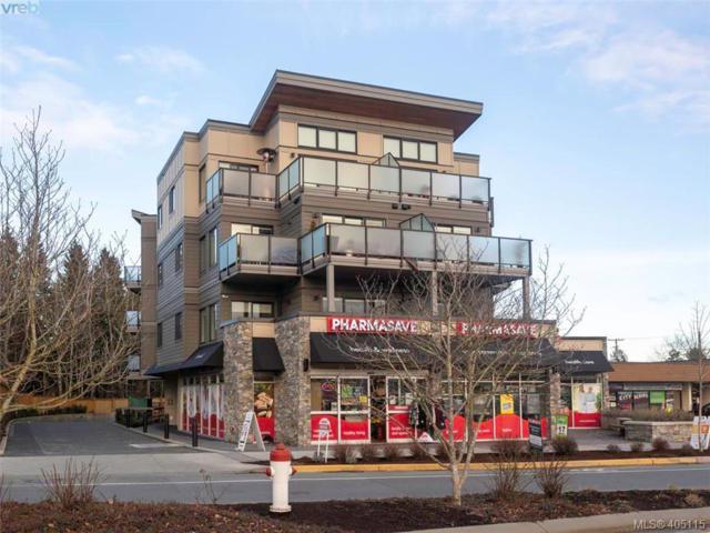 7111 West Saanich Rd #304, Central Saanich, BC V8M 1P7 (MLS #405115) :: Day Team Realtors