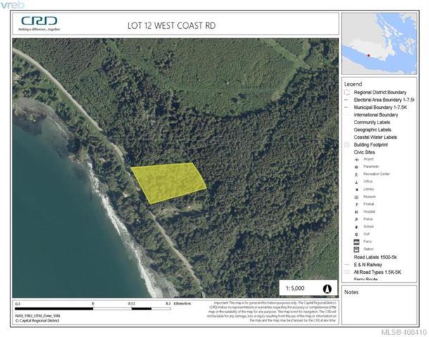 Lot 2 West Coast Rd, Sooke, BC V9Z 1G9 (MLS #408410) :: Live Victoria BC