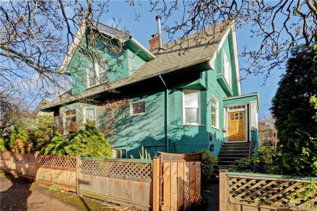 826 Queens Ave, Victoria, BC V8T 1M5 (MLS #408568) :: Live Victoria BC