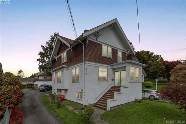 1022 Summit Ave, Victoria, BC V8T 2P2 (MLS #408929) :: Live Victoria BC
