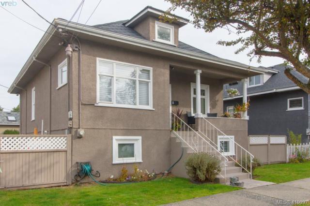 810 Queens Ave, Victoria, BC V8T 1M4 (MLS #410097) :: Live Victoria BC