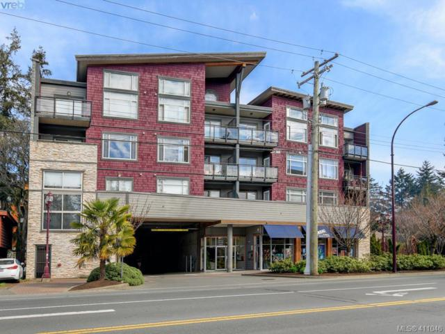 844 Goldstream Ave #410, Victoria, BC V9B 2X7 (MLS #411046) :: Day Team Realty