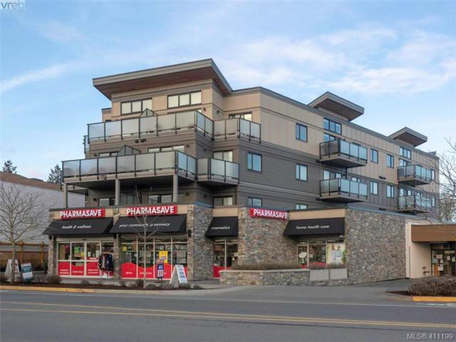 7111 West Saanich Rd #304, Central Saanich, BC V8M 1P7 (MLS #411199) :: Day Team Realty