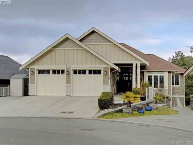 3743 Ridge Pond Dr, Victoria, BC V9C 4M8 (MLS #411422) :: Live Victoria BC